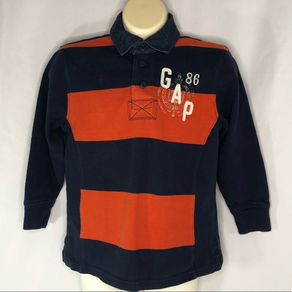 GAP Other - Gap Kids Cotton Rugby Jersey